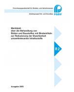 M Behandlung von Böden / umweltrelevante Inhaltsstoffe