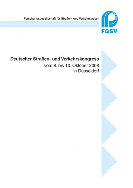 Deutscher Straßen- und Verkehrskongress Düsseldorf 2008