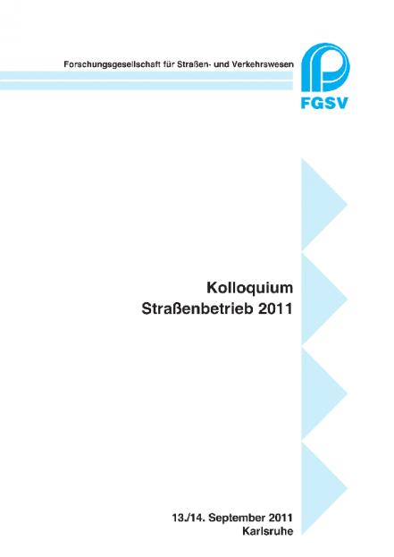 Straßenbetrieb 2011