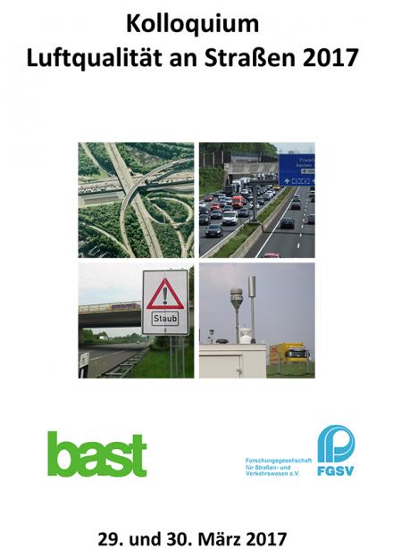 Kolloquium Luftqualität an Straßen 2017