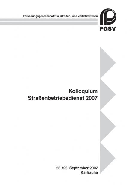 Straßenbetriebsdienst 2007