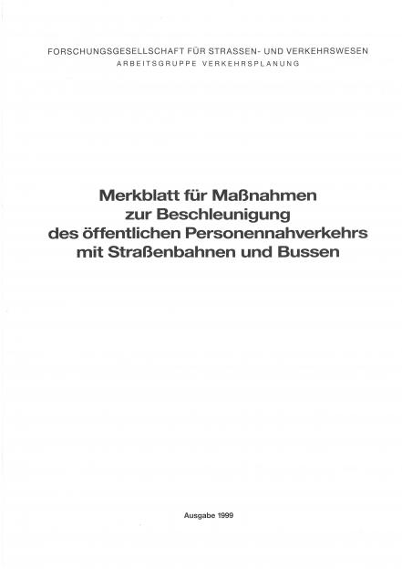 M ÖPNV - Beschleunigung