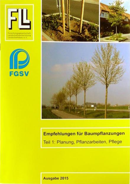 Empfehlungen für Baumpflanzungen - Teil 1