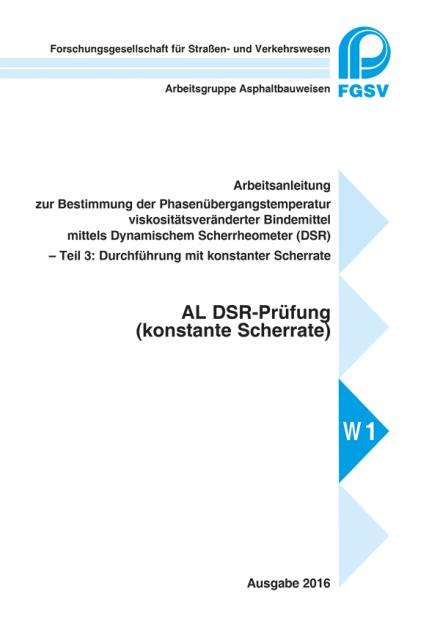 AL DSR-Prüfung (konstante Scherrate)