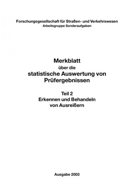 M Statistische Auswertung Teil 2