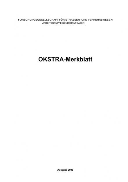OKSTRA-Merkblatt