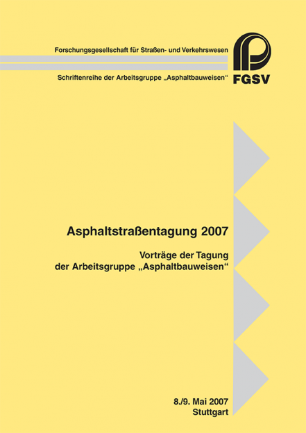 Asphaltstraßentagung 2007