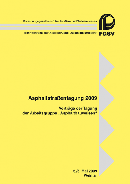 Asphaltstraßentagung 2009