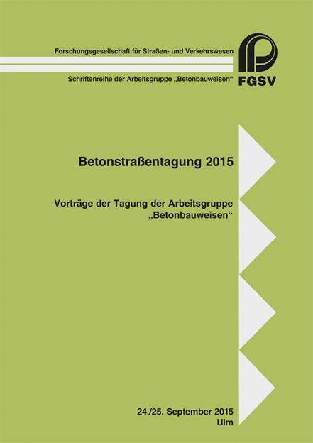 Betonstraßentagung 2015