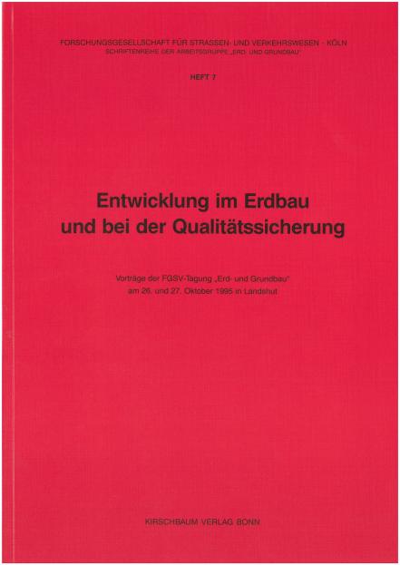 Erd- und Grundbautagung 1995