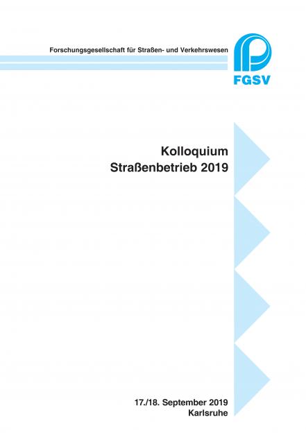 Kolloquium Straßenbetrieb 2019