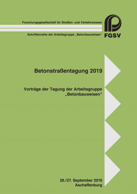 Betonstraßentagung 2019