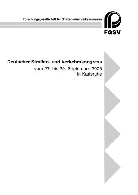 Deutscher Straßen- und Verkehrskongress Karlsruhe 2006