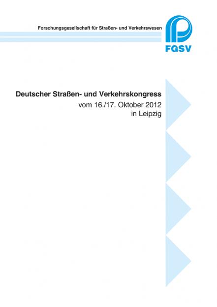 Deutscher Straßen- und Verkehrskongress Leipzig 2012