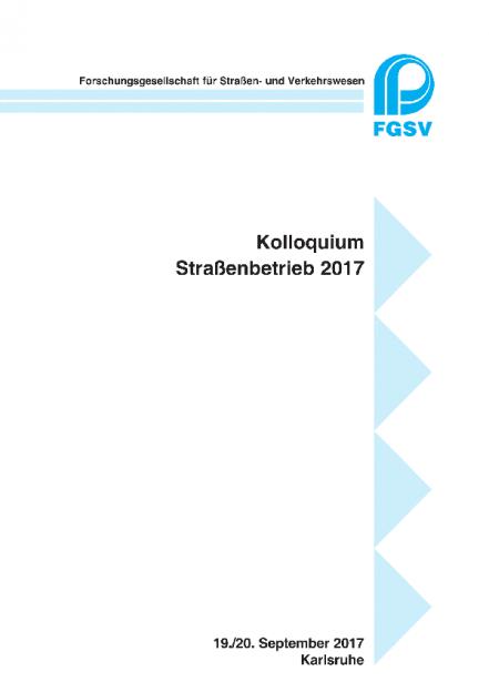 Kolloquium Straßenbetrieb 2017
