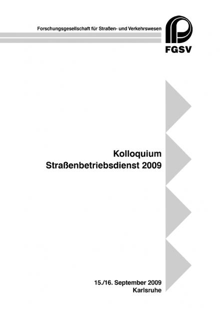 Straßenbetriebsdienst 2009