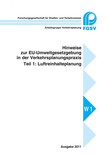 H EU-Umweltgesetzgebung - Teil 1: Luftreinhalteplanung