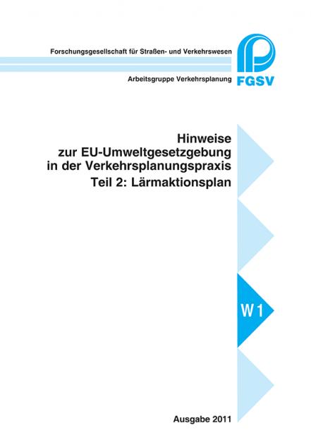 H EU-Umweltgesetzgebung - Teil 2: Lärmaktionsplan