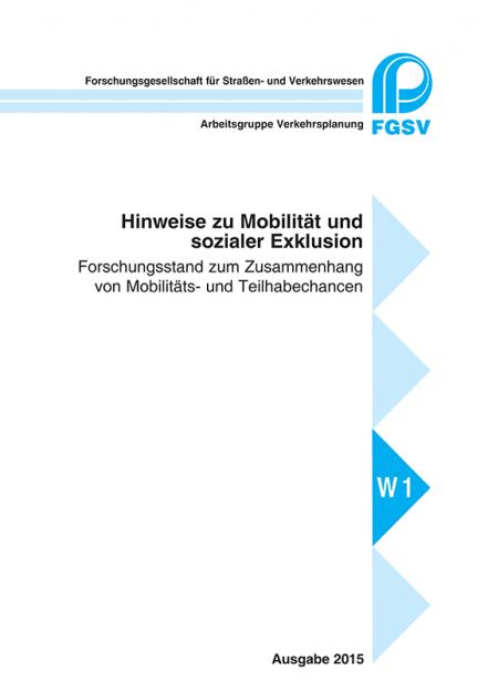 H Mobilität und soziale Exklusion