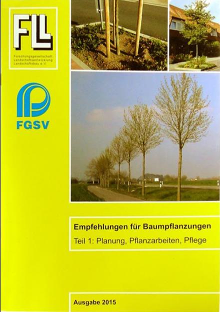 Empfehlungen für Baumpflanzungen Teil 1