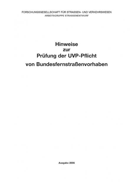 H UVP-Pflicht