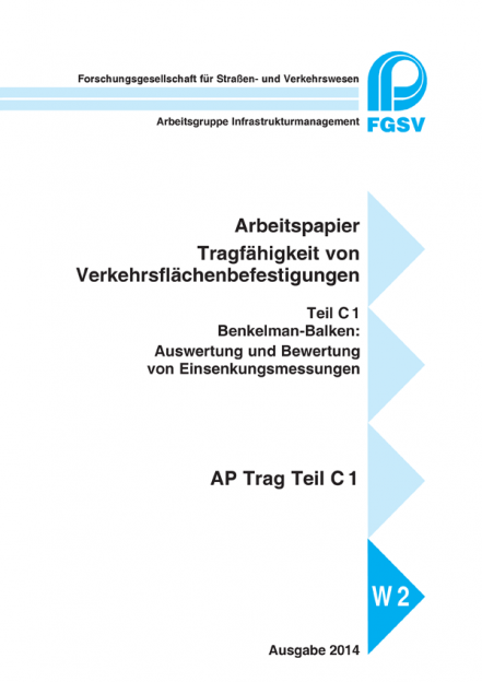 AP Trag C 1: Benkelman-Balken