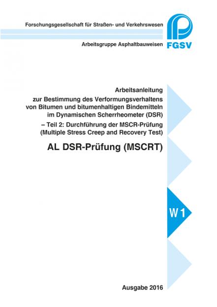 AL DSR-Prüfung (MSCRT)