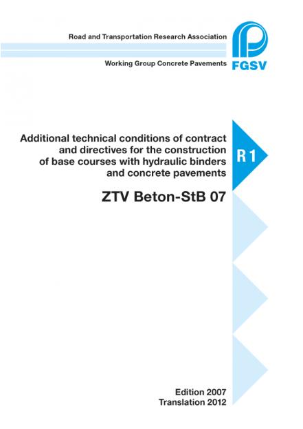 ZTV Beton-StB E