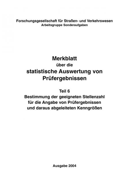 M Statistische Auswertung Teil 6