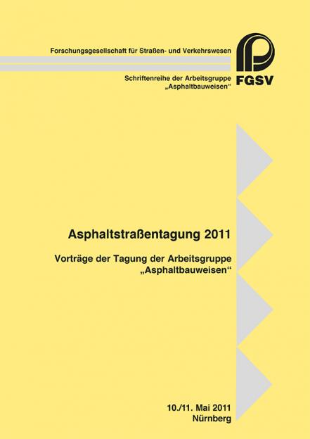Asphaltstraßentagung 2011