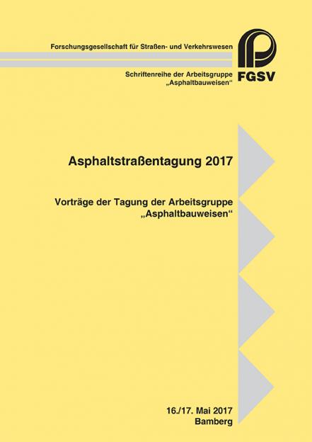 Asphaltstraßentagung 2017