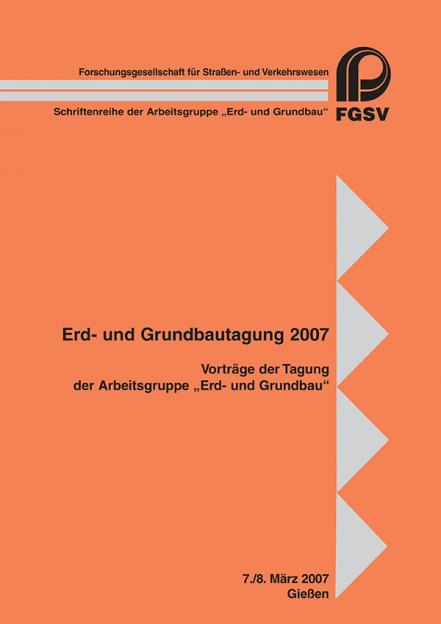 Erd- und Grundbautagung 2007