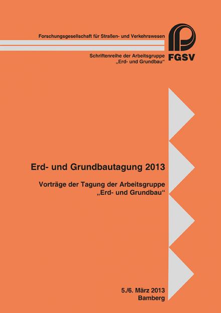 Erd- und Grundbautagung 2013