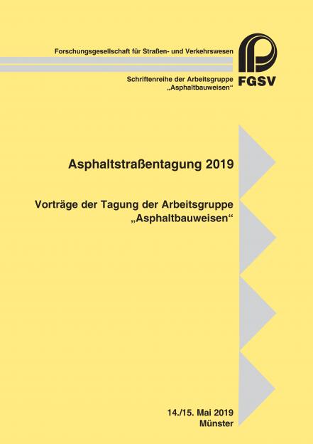 Asphaltstraßentagung 2019